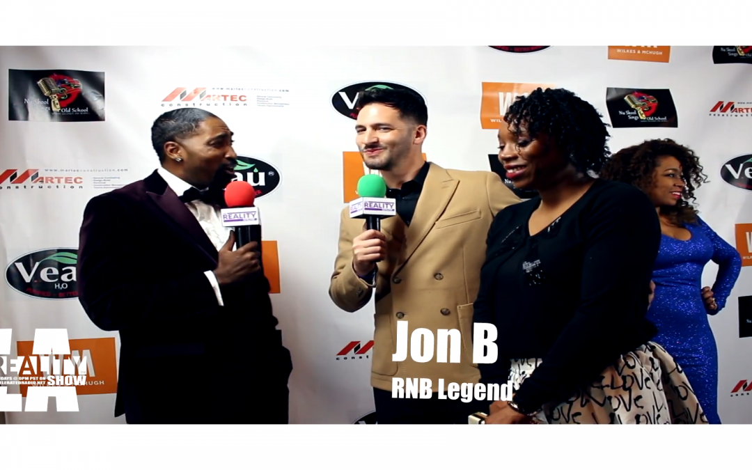 VIDEO: RNB Legend Jon B ft. Eunique Hakeem @ The Beautiful Soulz Awards – The Reality Show LA