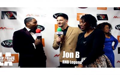 VIDEO: RNB Legend Jon B ft. Eunique Hakeem @ The Beautiful Soulz Awards – The Reality Show LA