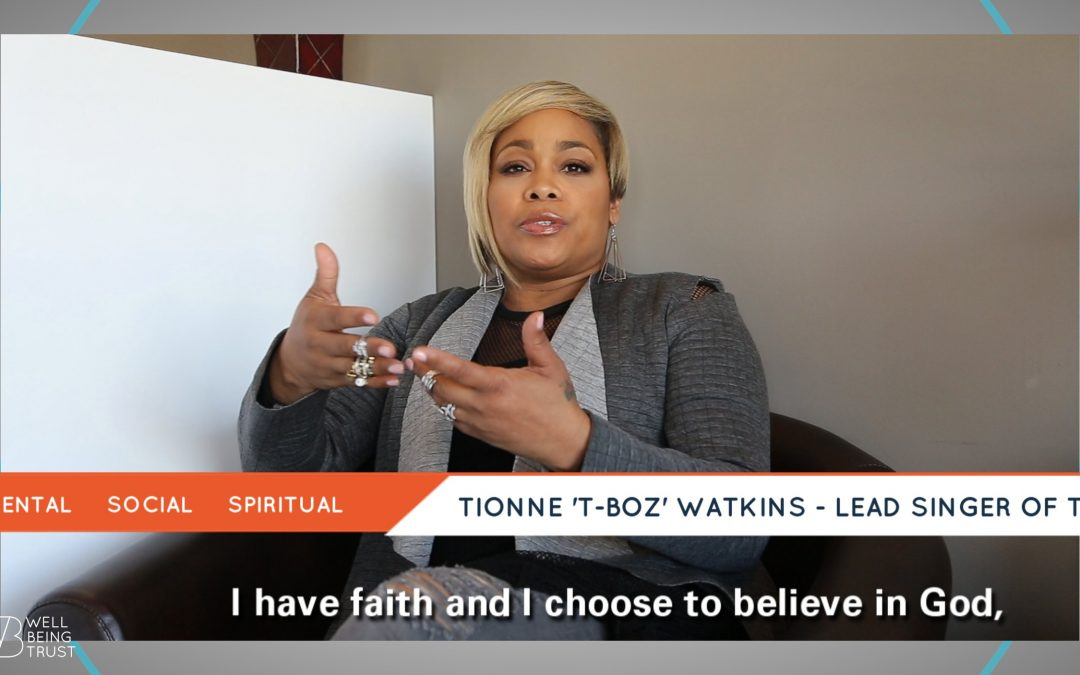 "VIDEO: Tionne ""T-Boz"" Watkins discusses mental health with Well Being Trust"