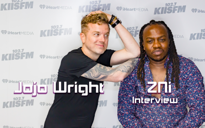 ZNi with Jojo Wright@ iHeart Radio in Burbank