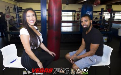 PICS & VIDEO: Former Super Bantam Weight Champion Rico Suave with Jenny Sushe On Boxing
