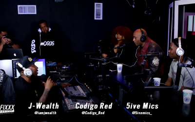 5ive Mics of T.I.'s Hustle Gang Stops By The Fixxx Audiocast