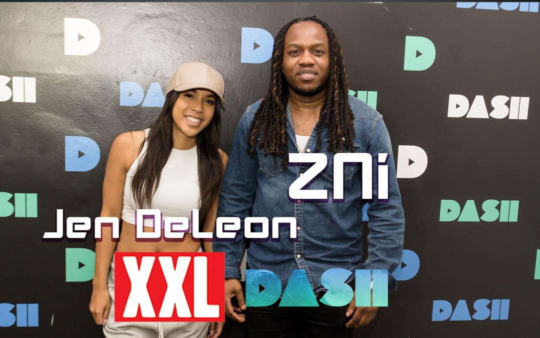ZNi on XXL Radio @ Dash Radio in Hollywood